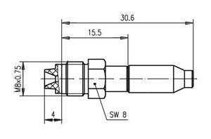 Разъем для гибких кабелей J01701A0008