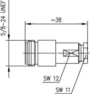 Разъем для гибких кабелей J01021H0019
