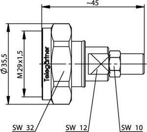 Разъем для гибких кабелей J01120C0070