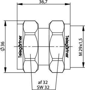 Внутрисерийный ВЧ адаптер J01023B0000