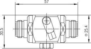 Грозоразрядник с газовой капсулой J01028A0043