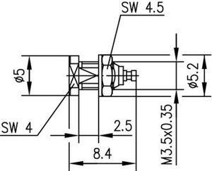 Разъем панельный J01341A0101