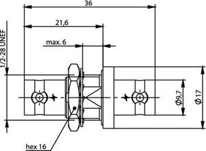 Внутрисерийный ВЧ адаптер J01005A0007