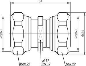 Внутрисерийный ВЧ адаптер J01442A0000