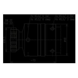 Разъем для фидерных кабелей BN 844842