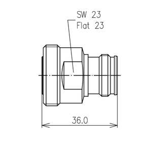 Междусерийный ВЧ адаптер BN 432011