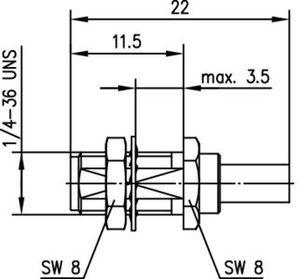 Разъем для гибких кабелей J01151A0671