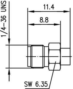 Разъем для полужёстких кабелей J01151A1181