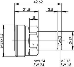 Разъем для гибких кабелей J01121A0147