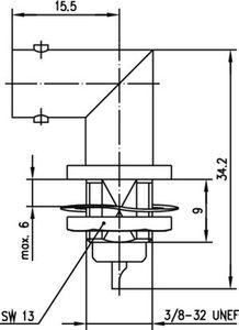 Разъем панельный J01001A1235