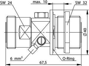 Грозоразрядник с газовой капсулой J01125A0036