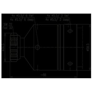 Разъем для фидерных кабелей BN 844844