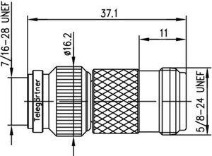 Междусерийный ВЧ адаптер J01019A0008