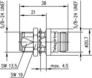 Внутрисерийный ВЧ адаптер J01024A0006