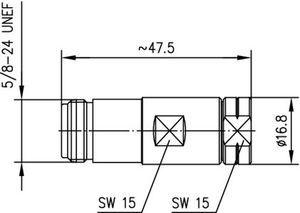 Разъем для фидерных кабелей J01021A0188