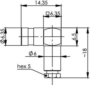 Разъем для гибких кабелей J01161A0821