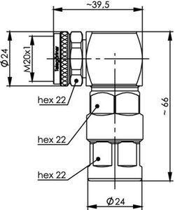 Разъем для фидерных кабелей J01440A0014