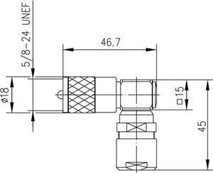 Разъем для гибких кабелей J01040B0002