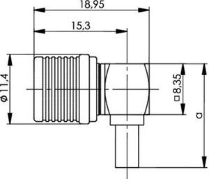 Разъем для гибких кабелей J01420A0085