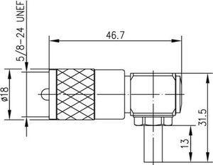 Разъем для гибких кабелей J01040B0691