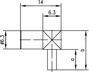 Разъем для гибких кабелей J01161A0268