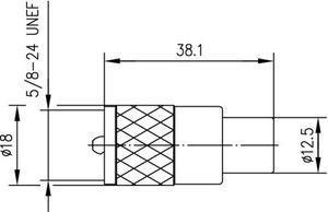 Разъем для гибких кабелей J01040A0604