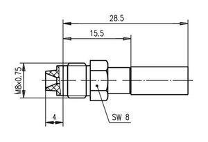 Разъем для гибких кабелей J01701A0007