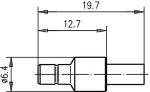 Разъем для гибких кабелей J01160A0401
