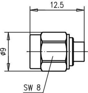 Разъем для полужёстких кабелей J01150A0131