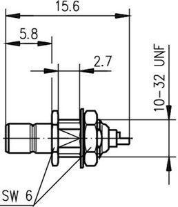 Разъем панельный J01160A0021