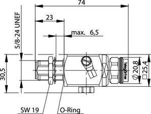 Грозоразрядник с газовой капсулой J01028A0046