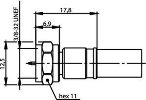 Разъем для гибких кабелей J01600A0006