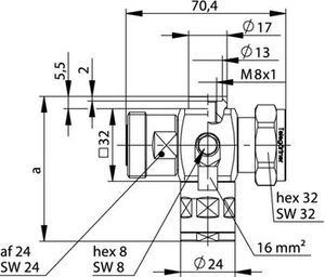 Грозоразрядник с четвертьволновым отрезком J01125C0001