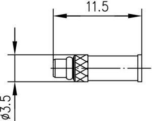 Разъем для гибких кабелей J01340A0001