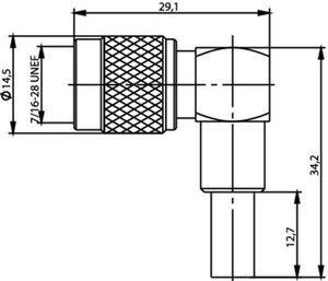 Разъем для гибких кабелей J01010R0002