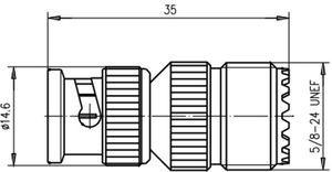 Междусерийный ВЧ адаптер J01008A0803