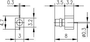 Разъем панельный J01340A0041