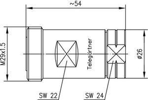 Разъем панельный J01121A0721