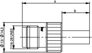 Разъем панельный J01011A0012