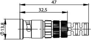 Разъем для гибких кабелей J01002A0081
