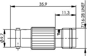 Междусерийный ВЧ адаптер J01008A0012