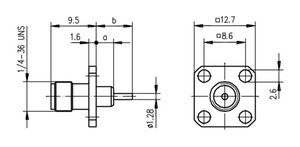Разъем панельный J01151A0641