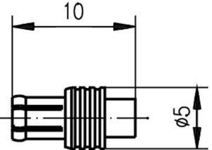 Разъем для полужёстких кабелей J01270A0141