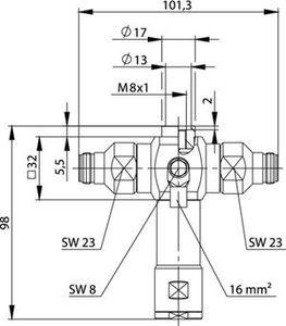 Грозоразрядник с четвертьволновым отрезком J01028A0052
