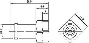 Разъем для печатных плат J01001A1945