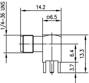 Разъем для печатных плат J01151A0198