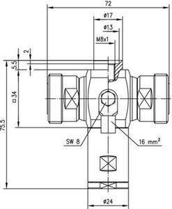 Грозоразрядник с четвертьволновым отрезком J01125A0023