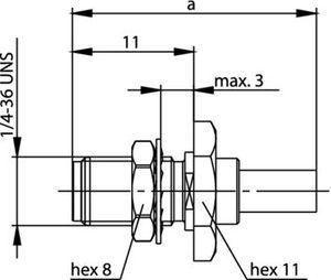 Разъем для гибких кабелей J01151A0401