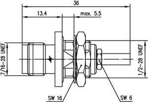 Разъем для гибких кабелей J01011A0016