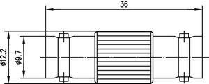 Внутрисерийный ВЧ адаптер J01005A0006